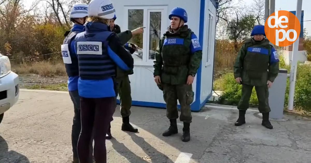 """У """"ЛНР"""" заявили, що ОБСЄ допомогала повернути бойовика-диверсанта, який був з Косяком"""
