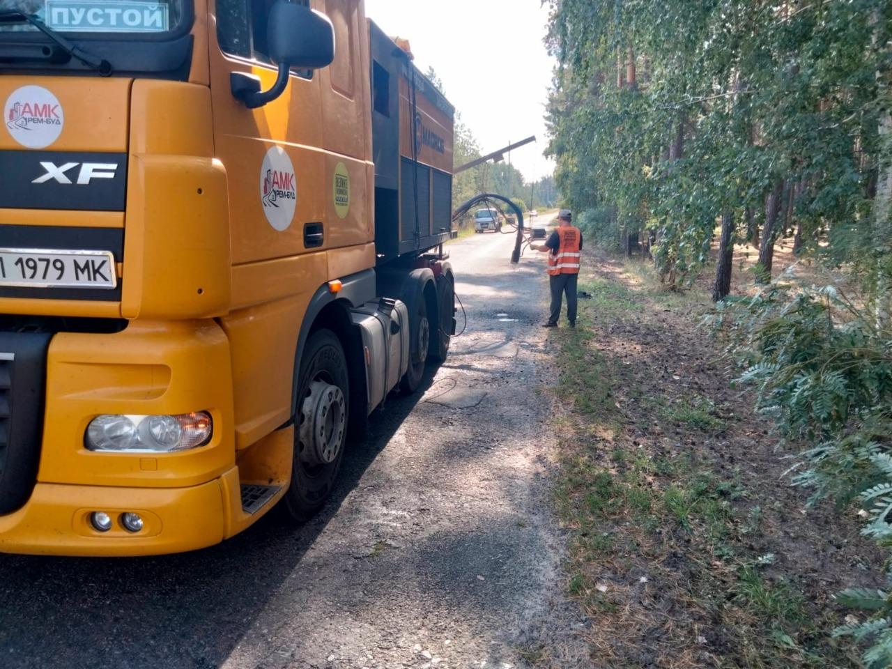У Недригайлівській ОТГ відзначили високу якість ремонту доріг, який проводила «АМК «РЕМ-БУД»