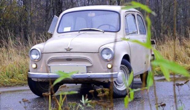 Очень стильный вид: дедовский ЗАЗ скрестили с Volkswagen - получился красивый трансформер, фото