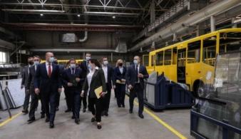 Денис Шмыгаль посетил Черниговский автозавод