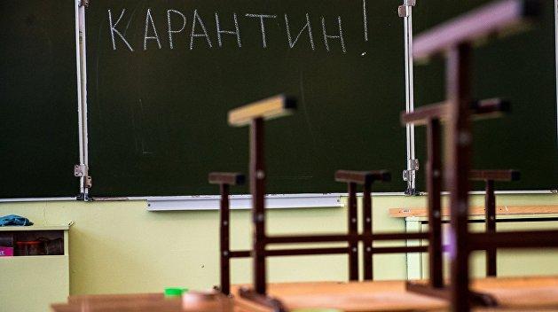 Классы в школах в Запорожской области массово закрываются на карантин