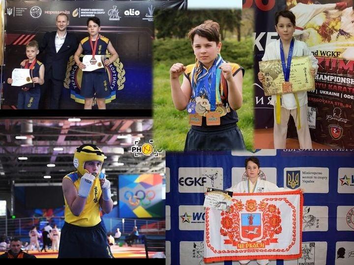 Черкаський 7-класник – Чемпіон України з карате та бронзовий призер Чемпіонату світу